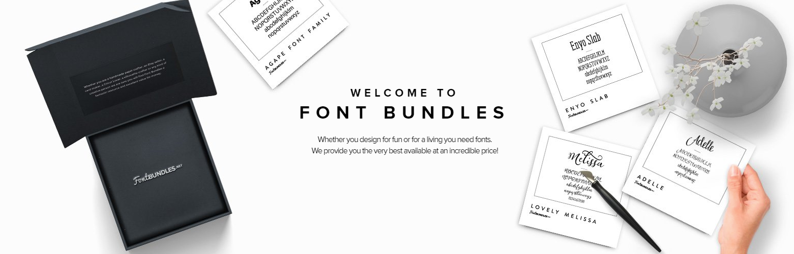 Premium, Free Fonts And Font Bundles – FontBundles.net