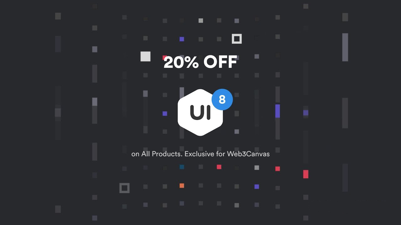 UI8 Coupon Code 2020 – 20% OFF on all Items